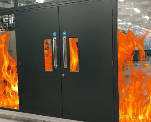 fire-resistant door