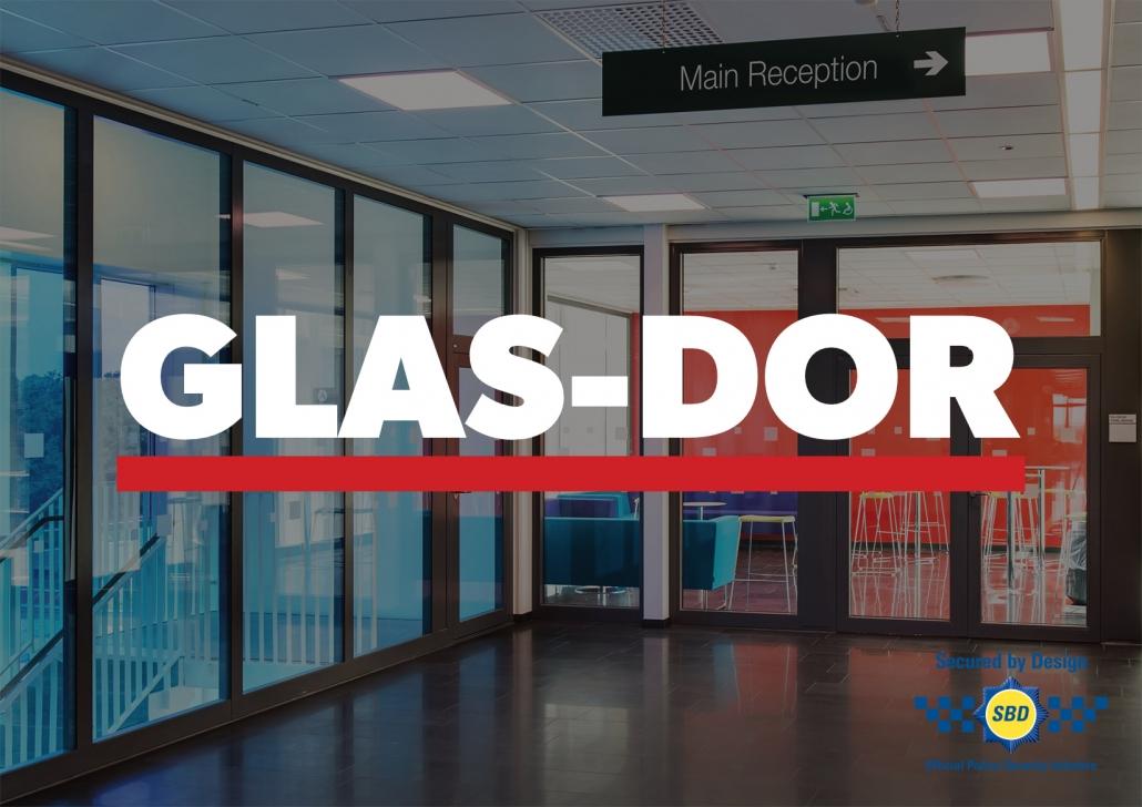 GLAS-DOR glazed